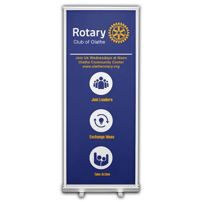 Organizing Principles Retractable Banner