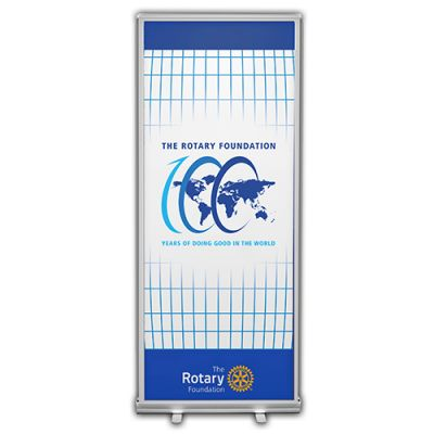 Rotary Foundation Centennial Retractable Banner