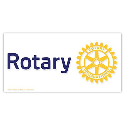 Rotary Masterbrand Window Decal - Static Cling