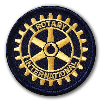 "2-1/4"" Embroidered Rotary International Patch"