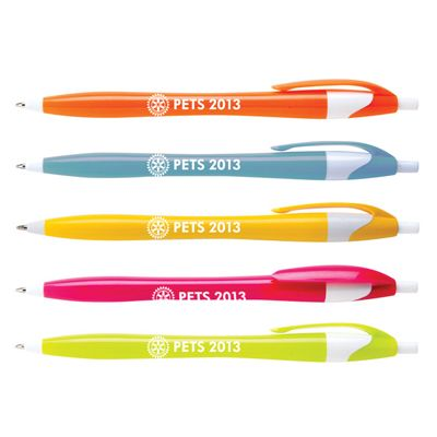 Customized Plastic Breeze Retractable Ballpoint Pen