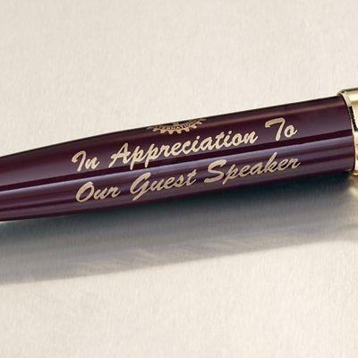 Guest Speaker Brass Ballpoint Pen