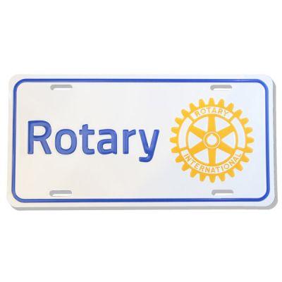 Rotary Masterbrand Aluminum License Plate