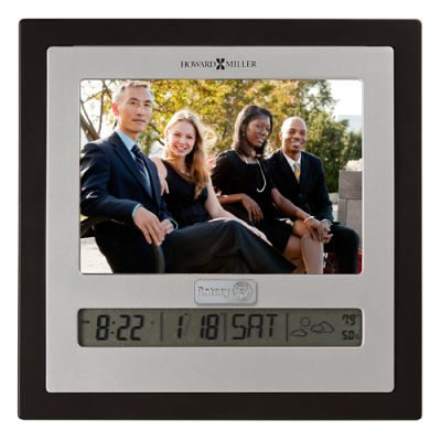 Picture Frame with Clock, Calendar, Thermometer