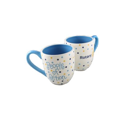 Designer Rotary People of Action Coffee Mug