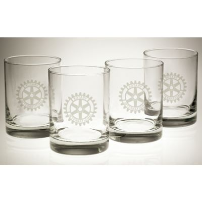 13-1/2 oz. Executive Rocks Glasses - Sets of 4