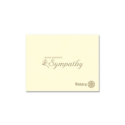 Deepest Sympathy Card with Envelope - Pack of 10