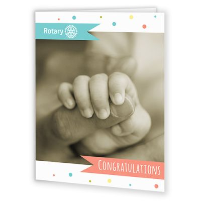New Baby Congratulatory Card with Envelope