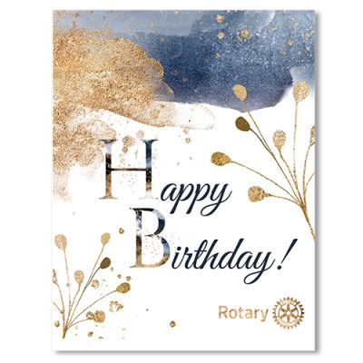 Birthday Greeting Card with Envelope - Pack of 10