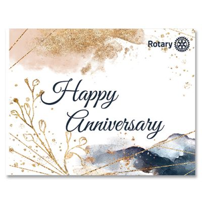 Anniversary Card w/Envelope Pack/10