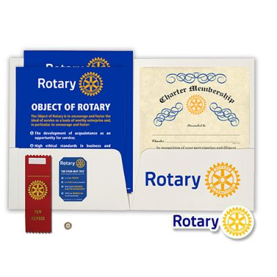 Rotary Charter Presentation Kit