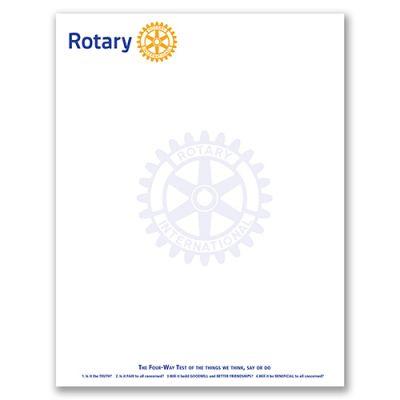 Rotary International Letterhead