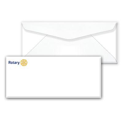 Rotary International Masterbrand Signature Logo Envelopes -- No. 10 (Pack of 250)