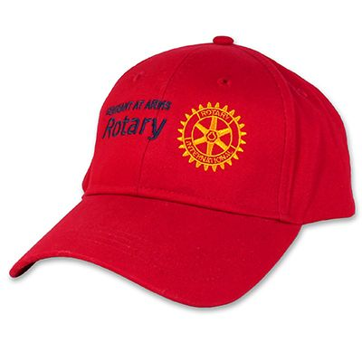 Red Twill Sergeant At Arms Cap