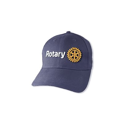 Navy Cap with 3D Rotary Masterbrand Signature Logo