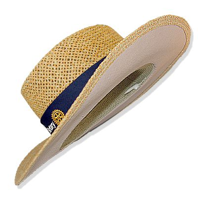 Natural Straw Hat with Underbrim