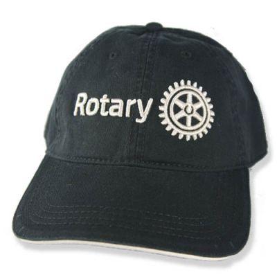 Black Cap with 3D Rotary Masterbrand Signature Logo