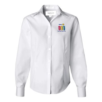 White Blouse w/ 2020-21 Rotary Theme Embroidery