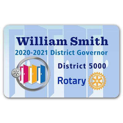 2020-21 Theme Badge with Theme Flat - Credit Card (Style 3)