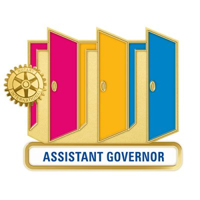 Theme Officer Pin - ASSISTANT GOVERNOR