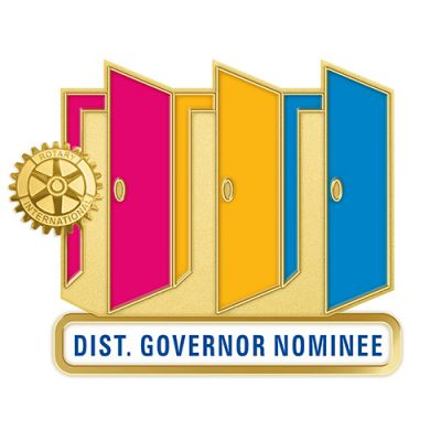 Theme Officer Magnetic Pin - DISTRICT GOVERNOR NOMINEE