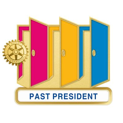 Theme Officer Magnetic Pin - PAST PRESIDENT
