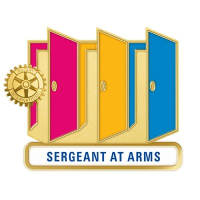Theme Officer Pin - SERGEANT AT ARMS