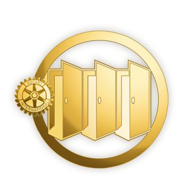 2020-21 Gold/Misty Gold Finish Lapel Pin