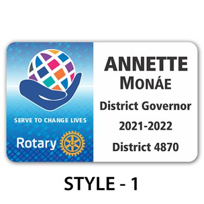 2021-22 Theme Badge - Credit Card Style