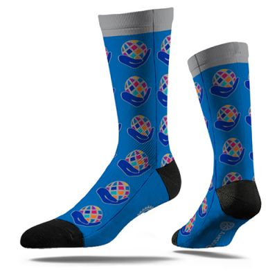 Pair of 2021-22 President's Theme Socks