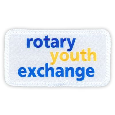 Rotary Youth Exchange Patch