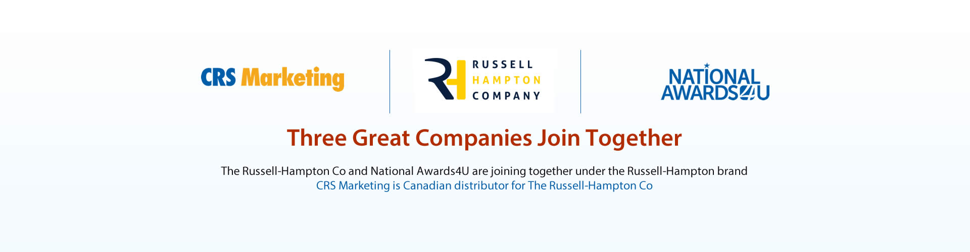 Canadian distributor for The Russell-Hampton Co
