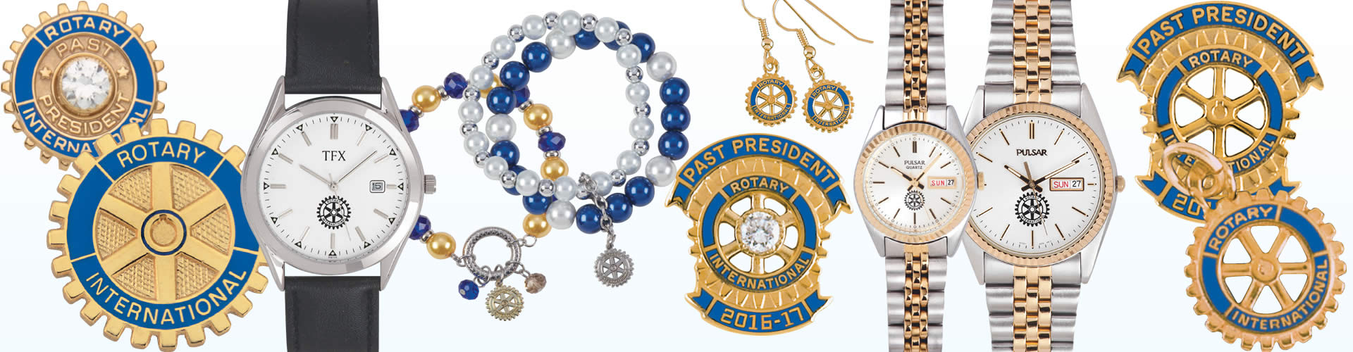 Rotary Club Watches and Pins Canada